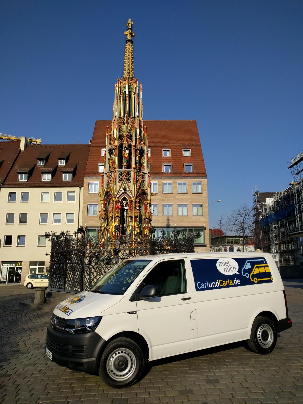 Transporter mieten in Nürnberg - CarlundCarla Blog